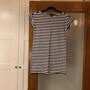 J. Crew Cotton Stripe Dress